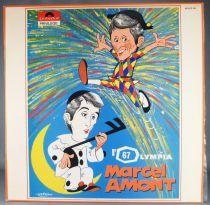 Uderzo - Disque 33T LP Polydor 658 012 - Marcel Amont Olympia 1967