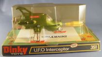 UFO - Dinky Toys Réf 351 - S.H.A.D.O. UFO Interceptor Neuf en Boite