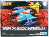 UFO Robo Grendizer - Bandai Soul of Chogokin GX-76X2 - Goldrake Dynamic Classics Drill & Marine Spazer Set