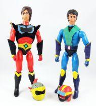 "UFO Robo Grendizer - Ceji Arbois - Alcor & Actarus (Duke Fleed & Koji Kabuto) 8\"" action figures (loose)"