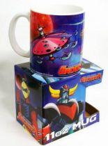 "UFO Robo Grendizer - HL Pro - Ceramic Mug \""Vegan Saucer attack\"""
