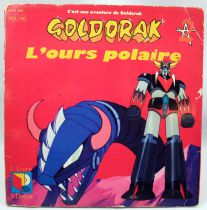 "UFO Robo Grendizer - Mini-LP Record-book \""L\'Ours Polaire\"" - Saban Records 1982"