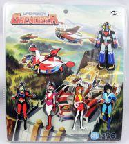 UFO Robo Grendizer - Set of 6 rubber key chain figures - HL Pro