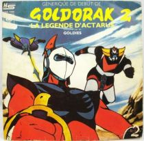 Goldorak 2 La Légende d\'Actarus par Goldies - Disque 45Tours CBS 1979
