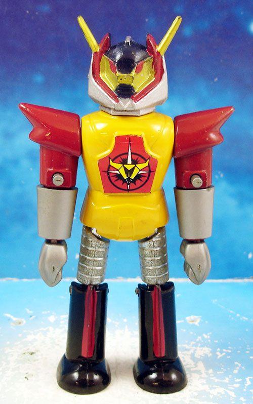 """Ufobots - Polistil - Robot 10cm \""""torse jaune\"""" (loose)"""