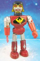 """Ufobots - Polistil - Robot 10cm \""""torse rouge\"""" (loose)"""
