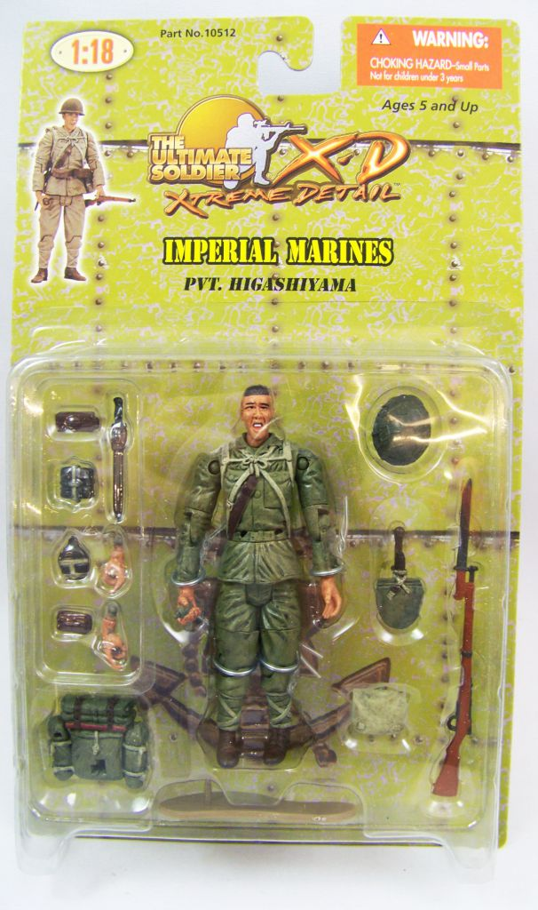 Ultimate Soldier XD - Imperial Marines - Pvt. Higashiyama