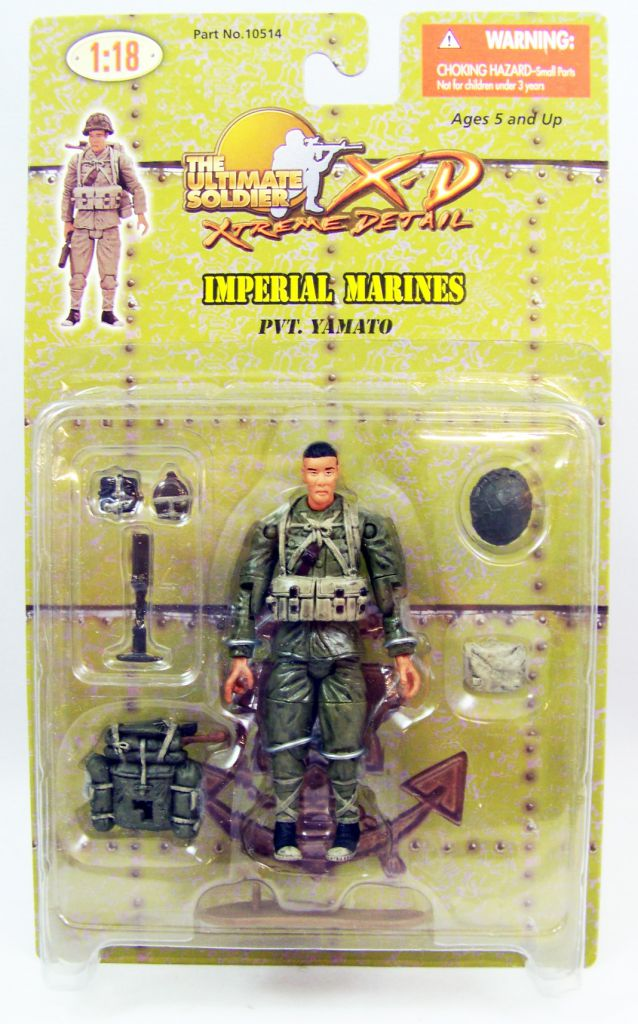 Ultimate Soldier XD - Imperial Marines - Pvt. Yamato