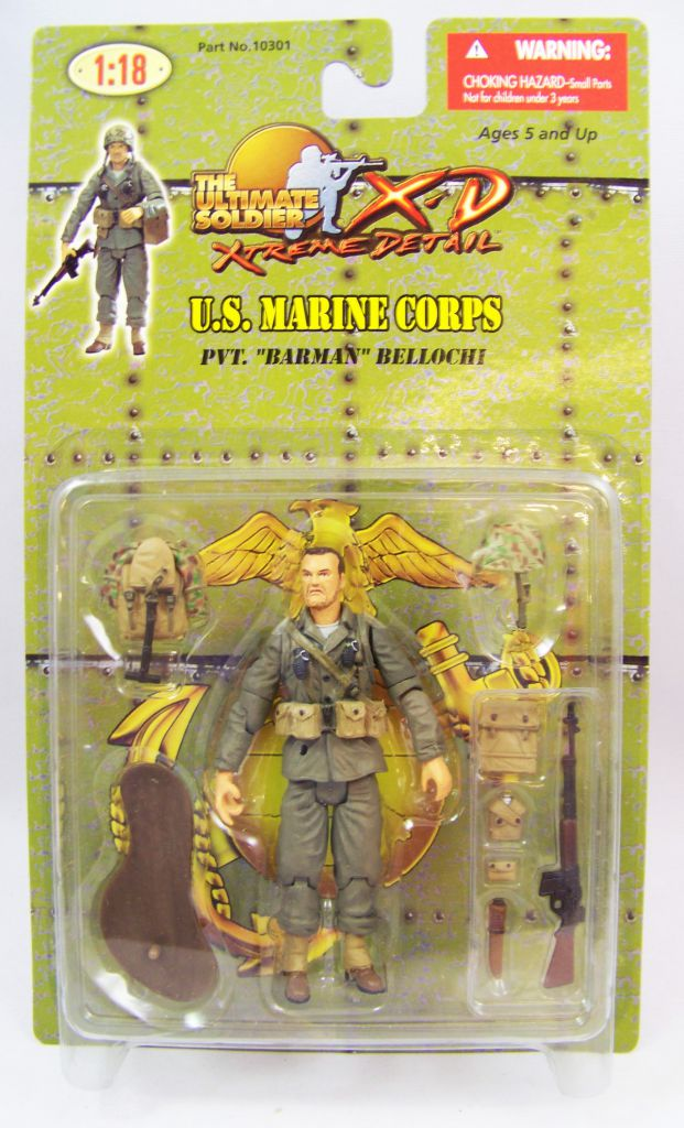 "Ultimate Soldier XD - U.S. Marine Corps - Pvt. \""Barman\"" Bellochi"