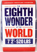 """Ultimates Wrestlers - Super7 - André The Giant \""""The Eighth Wonder of the World\"""""""