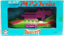 Ultraman Taro - Bullmark 1973 - ZAT Ironfish Submarine (neuf en boite)