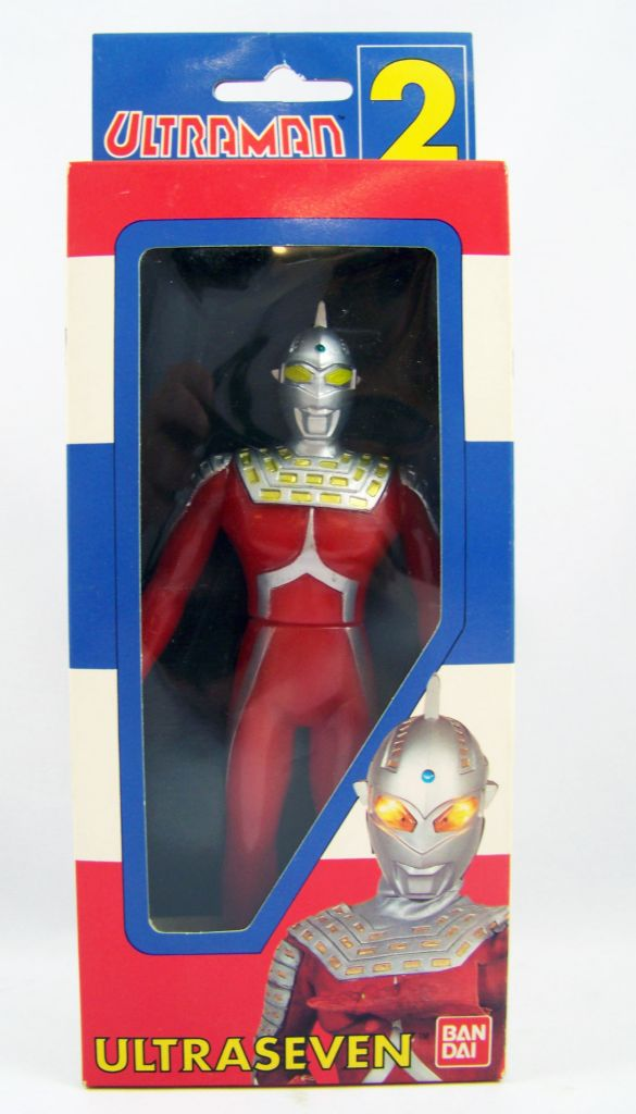 Ultraseven  - Bandai Ultraman Series n°2 01