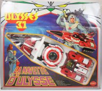 Ulysse 31 - Space Shuttle Vires-Orbos-Dardos (large box version) - Popy France