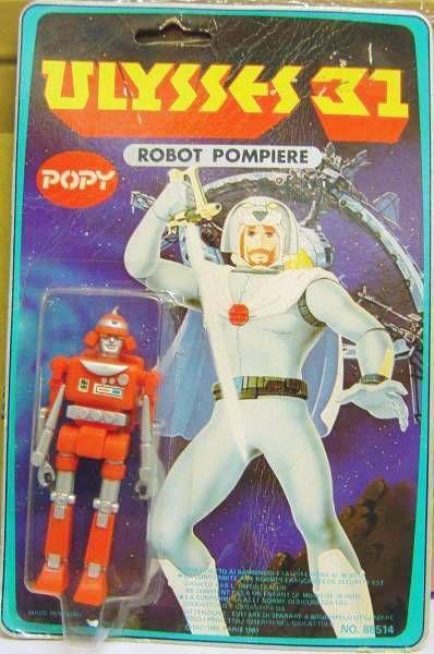 Ulysses 31 - Fireman-Robot - Popy Italy
