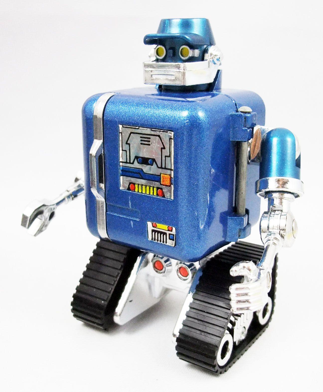 Ulysses 31 - Metal figure Engineer-Robot - Popy France