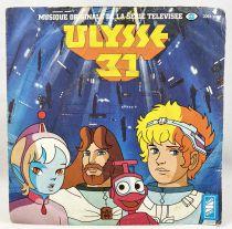 Ulysses 31 - Mini-LP Record - Original French TV series Soundtrack - Saban 1981