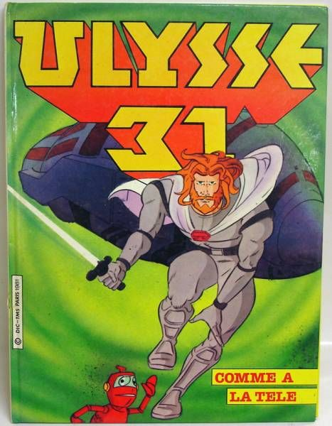 Ulysses 31 Euredif Hardcover story book : Heratos