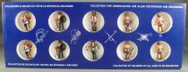 Universal Models 1001 - 35mm - Vikings - Boxed Set 10 Painted Figures with playground