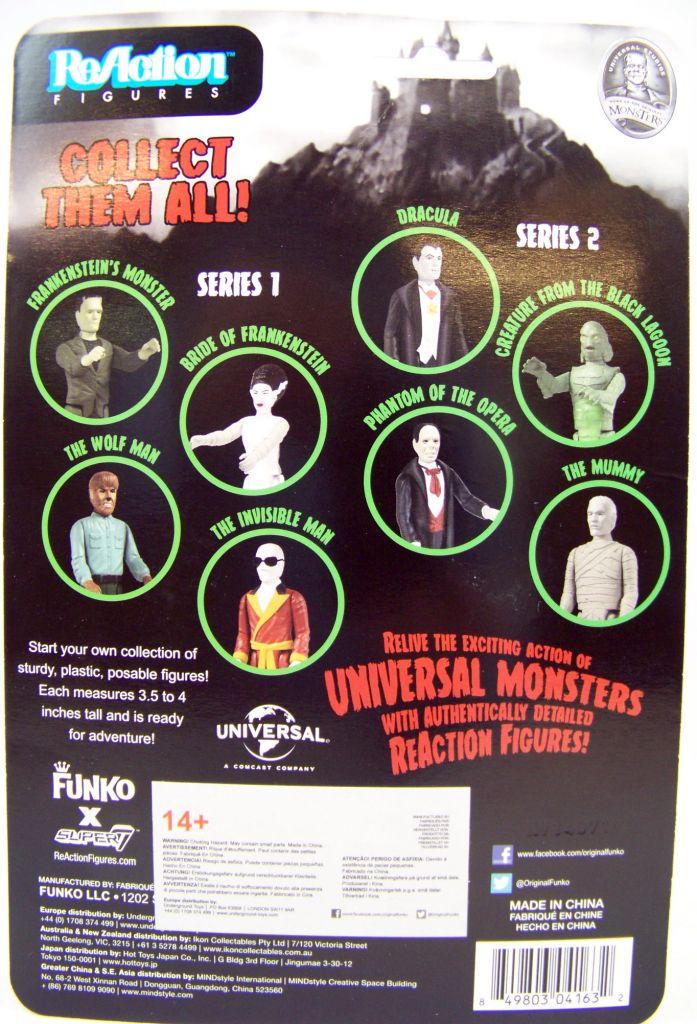 Monstres Studios Universal - ReAction Figure - La Créature du Lagon Noir (phosphorescent)  02