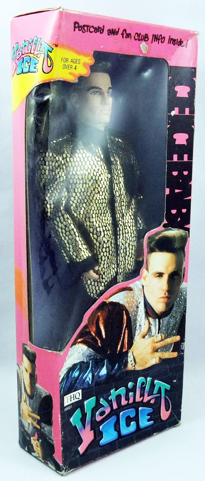 Vanilla Ice - Poupée 30cm (neuve en boite) - THQ 1991