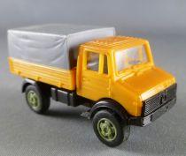 Verem 5001 Ho 1/87 Camion Mercedes Unimog Orange Baché