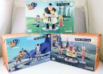 Vic le Viking - Set complet de statues LMZ Collectibles : Vic, Halvar, Faxe, Tjure, Snorre, Ulme, Urobe, Gorm, Ylvi