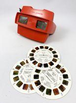 View Master 3-D - Visionneuse Rectangulaire + 3 disques (Schtroumpfs)
