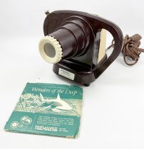 View Master Junior Projector (Bakelite) + Wonder of the Deep (1950\'s)