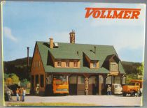 Vollmer 3753 Ho Road Maintenance Depot 4 Truck Boxes Mint in Box