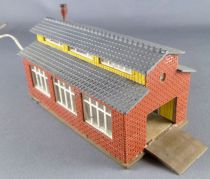 Vollmer 552 N Scale Locomotive Garage 1 Track with light