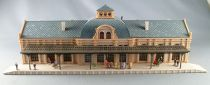 Vollmer 7506 Ech N Scale Large Station with Figures