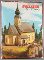 Vollmer 77404 Ech N Eglise de Montagne Neuve en Boite