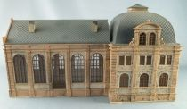 Vollmer Ho Sncf Industrial Building 19th Century Annex Station Built Painted 685 x 125 x 210 mm