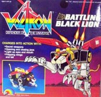 Voltron - LJN - Voltron Battling Black Lion