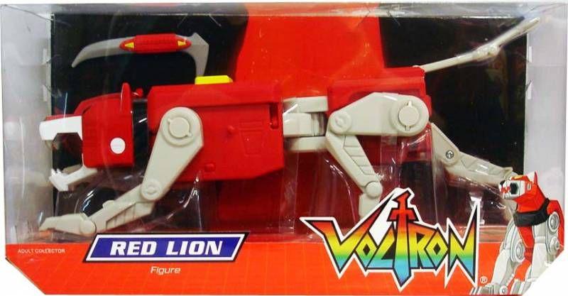 Voltron (GoLion) - Mattel - Red Lion & Lance