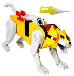 Voltron (GoLion) - Mattel - Yellow Lion & Hunk