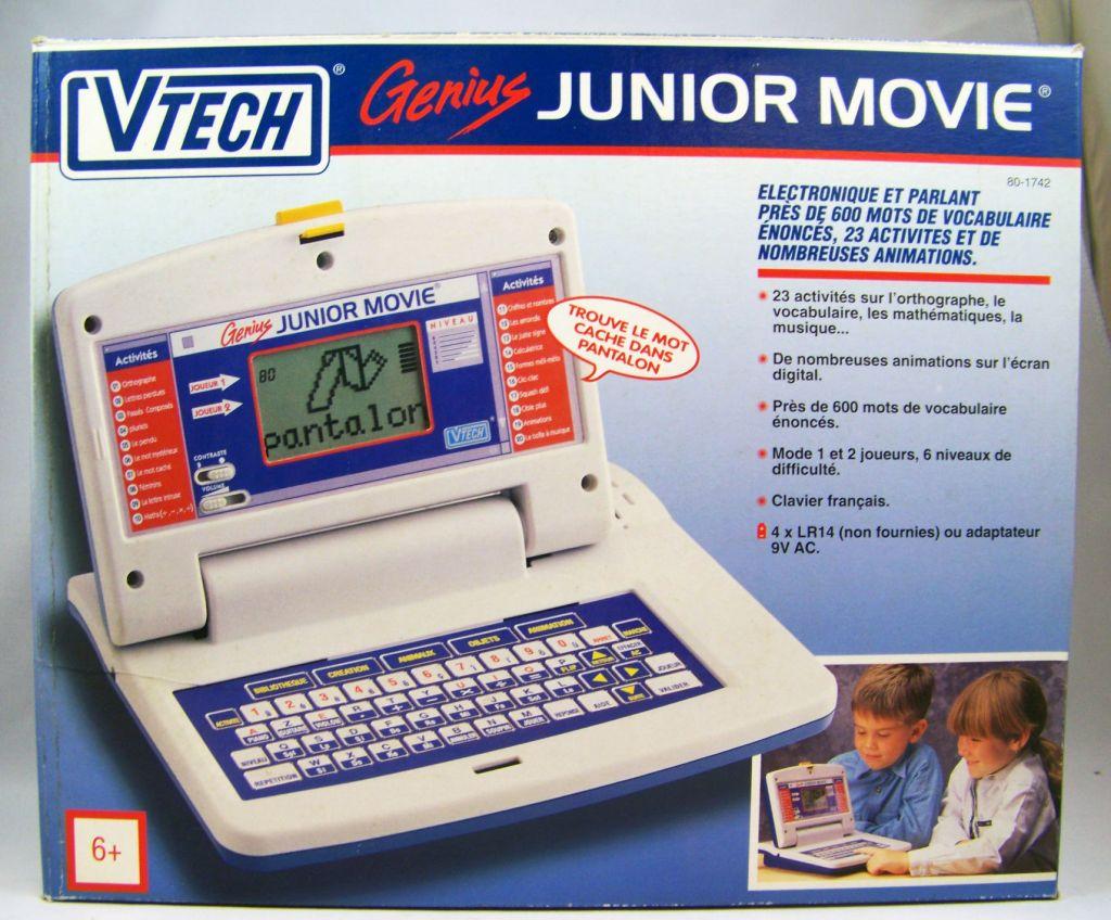 Vtech - Genius Junior Movie (1993 ) - Educational Laptop ...