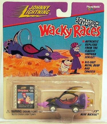 Wacky Races - Johnny Lightning - Dick Dastardly\'s Mean Machine