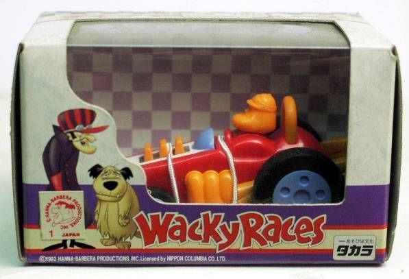 Wacky Races - Takara - Varoom Roardster