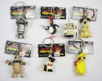 Wallace & Gromit - Banpresto - Set de 7 figurines porte clé