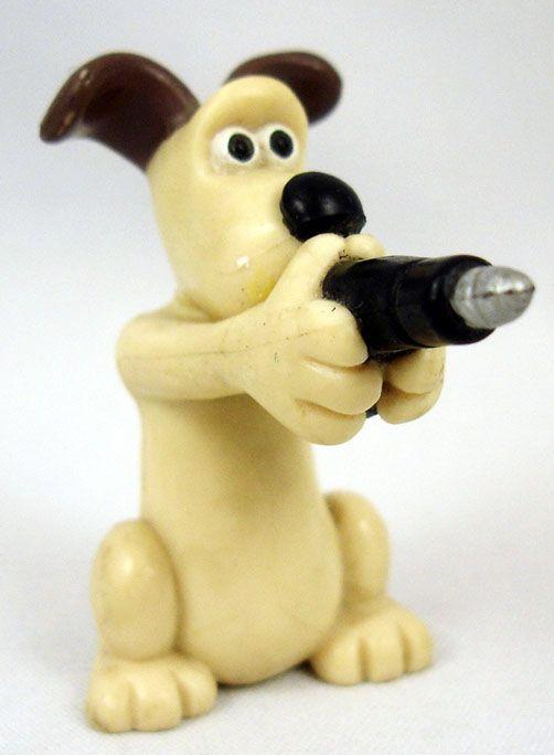 Wallace & Gromit - Vivid - Gromit avec pistolet