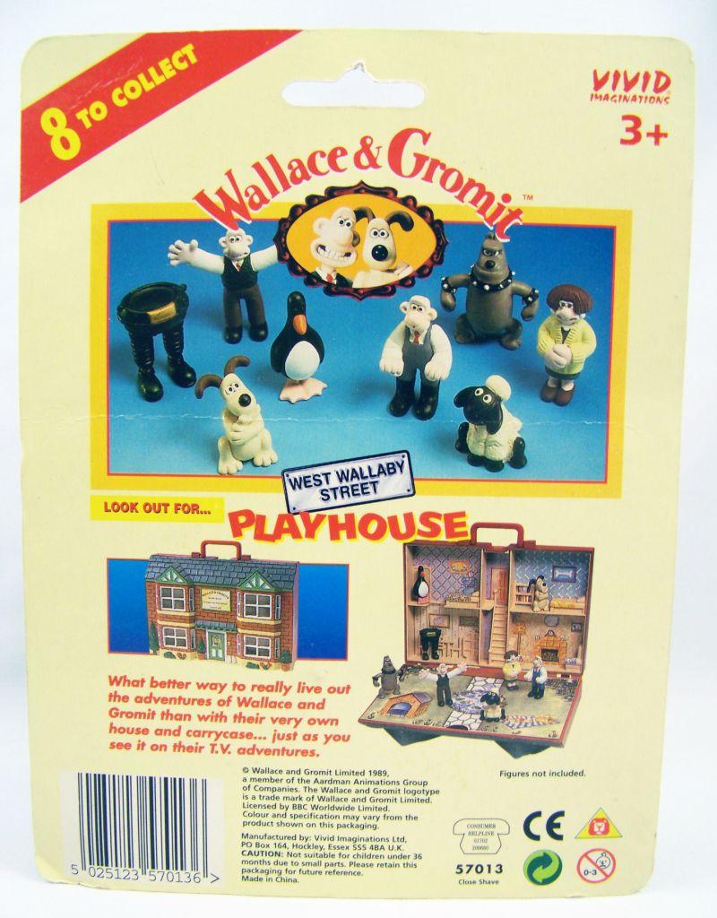Wallace & Gromit - Vivid - Set de 4 figurines PVC 02