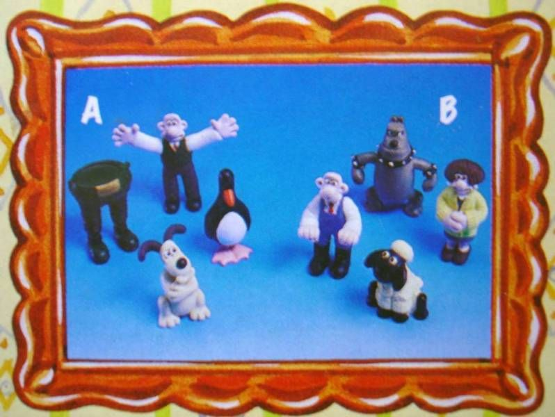 Wallace & Gromit - Vivid - Set of 4 PVC Figures