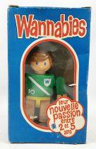 Wannabies - Céji / Gabriel Industries Inc. 1976 - Soccer Player (mint in box)