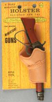 Wanted Dead or Alive - Josh Randall\'s Winchester & Holster - Marx Miniature Official Mare\'s Laig Cap Gun