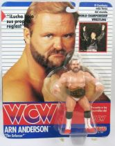WCW Galoob - Arn Anderson The Enforcer (carte Espagne)