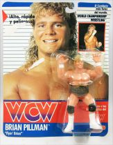"WCW Galoob - Brian Pillman \""Flyin\' Brian\"" (Spain card)"