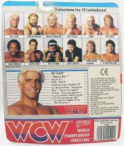 """WCW Galoob - Ric Flair \""""Nature Boy\"""" (Spain card)"""