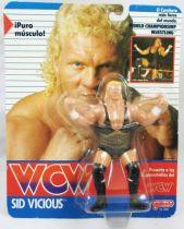 WCW Galoob - Sid Vicious (carte Espagne)