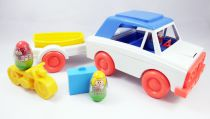Weebles - Hasbro - Weebles Car with Trailer (loose)